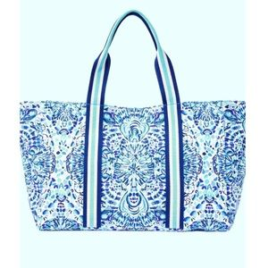 NWT Lilly Pulitzer Lagoon Tote